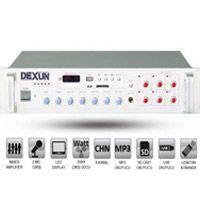 DEXUN PA 2535  250Watt 100V Hat Trafolu 6 Bölge Volum Kontrollü Usb ve FM