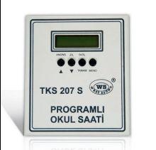 West sound TKS 207 S Programlı Okul Saati