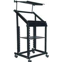 CTT R3 Cihaz Stand Rack Case orta boy tekerlekli