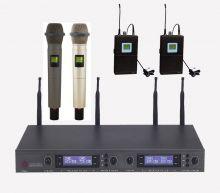 ROOF – R4000 Uhf 2 Yaka/2 El Telsiz Mikrofon Seti