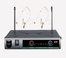 ROOF – R720 UHF İKİLİ HEAD SET  TELSİZ MİKROFON