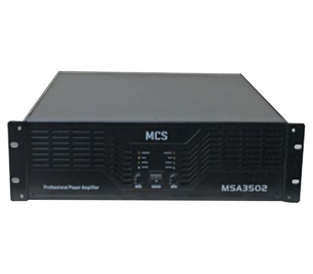 MCS 3502  POWER 2X1200W AMPLİFİKATÖR