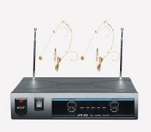 ROOF – R220  VHF  İKİLİ HEAD SET  TELSİZ MİKROFON SETİ