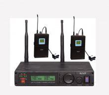 Roof R-1200 2 Yaka UHF Telsiz Mikrofonu