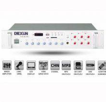 DEXUN PA 2512 Trafolu Anfili Mikser USB /MP3 Player