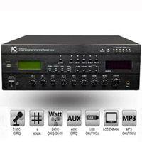 ITC TI 240MT 5 Bölge 240W Hat Trafolu Anfi USB/CD/FM
