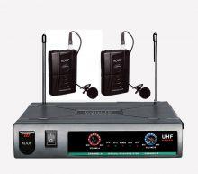 ROOF – R720 UHF İKİLİ YAKA  TELSİZ MİKROFON SETİ