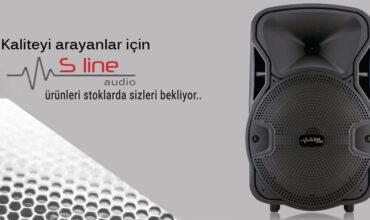 s line audio Stoklarımızda