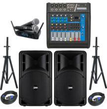 DMM Okul Ses Sistemi Paket-2 Okul Tören Ses Sistemi Seti