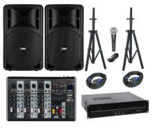 DMM Okul Ses Sistemi Paket-3 Okul Tören Ses Sistemi Seti