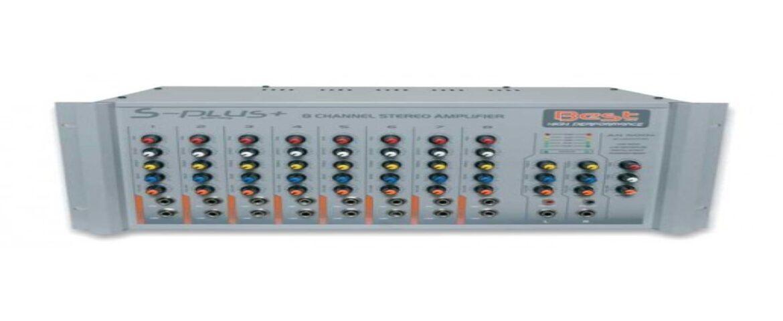 BEST PLUS AN300S 8 Kanal 2×300 Watt Stereo Anfi Mixer