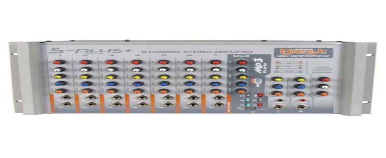 BEST PLUS AN400SU 8 Kanal 2×400 Watt Usb li Stereo Anfi Mixer