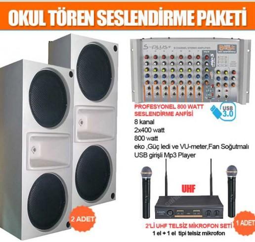 Okul Ses Sistemleri Paket 1