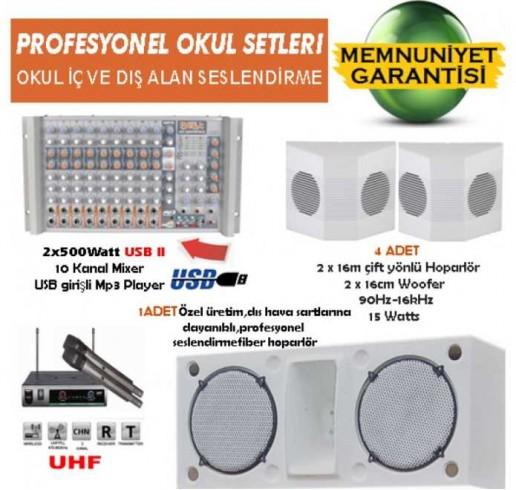 Okul Ses Sistemleri Paket 15