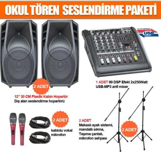 Okul Ses Sistemleri Paket 23