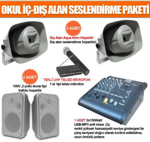 Okul Ses Sistemleri Paket 31