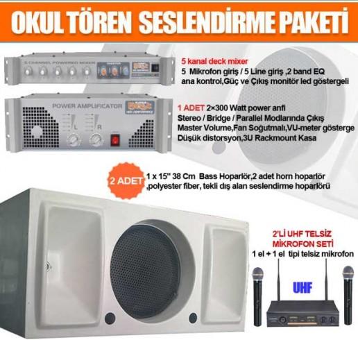 Okul Ses Sistemleri Paket 32