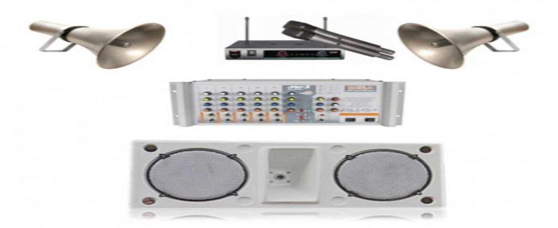 Okul Ses Sistemleri Paket 6