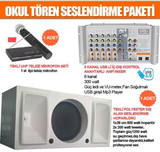 Okul Ses Sistemleri Paket 8