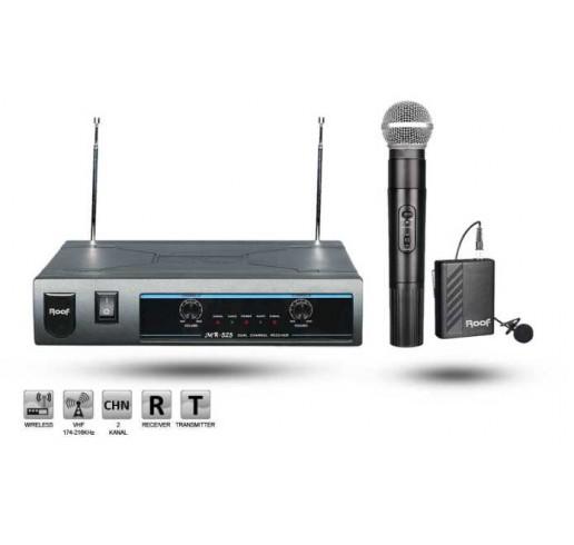ROOF R-720 El + Yaka Telsiz Mikrofon Seti