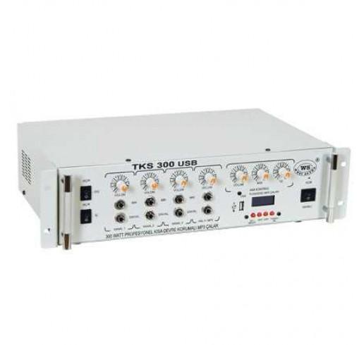 WEST SOUND TKS 100 USB TR Anfili Mikser 4 Kanal Hat Trafolu