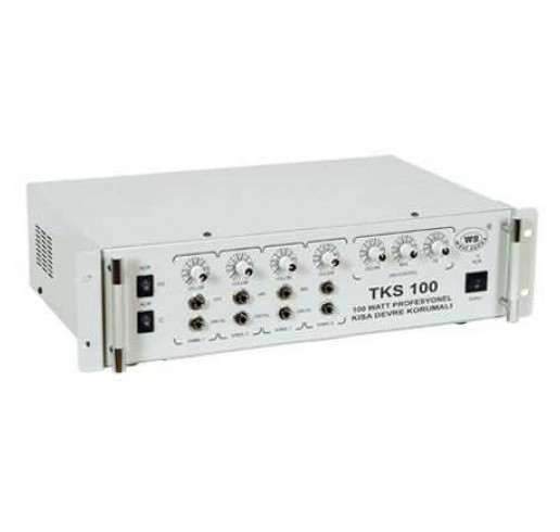 WEST SOUND TKS 300 USB Anfili Mikser 4 Kanal