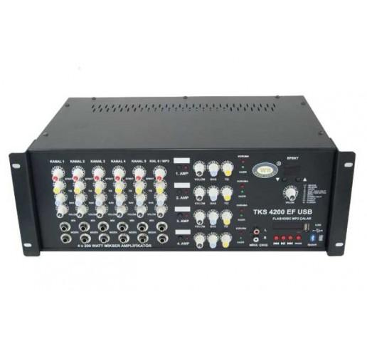 WEST SOUND TKS 4200 EF USB Anfili Mikser Usb li