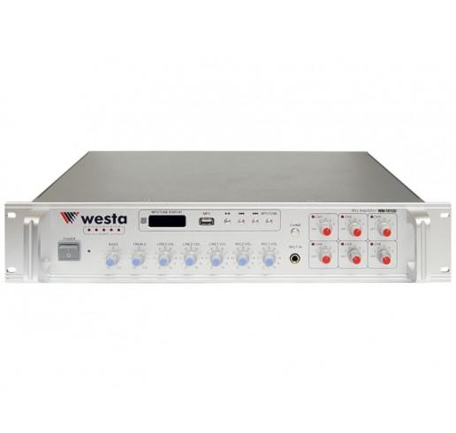 WESTA WM-1012U Amfi Mikser 6 Bölgeli